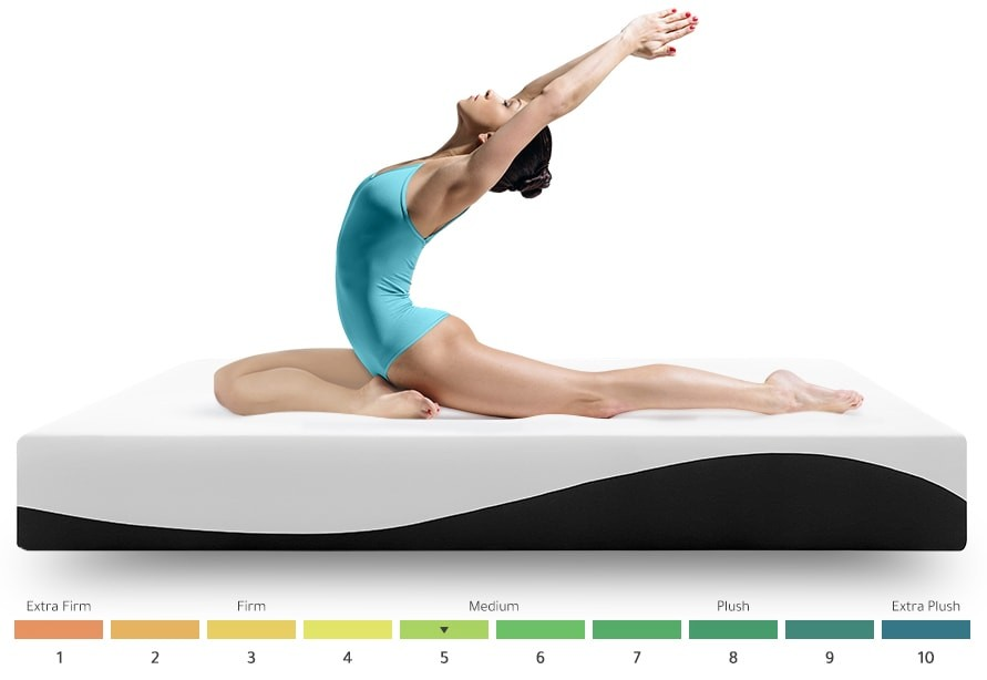Try Any Mattress of Your Choice RISK-FREE @ Home W/ Free Delivery woman-firmness-5 Nighslee review (up to $200 off + free pillow)