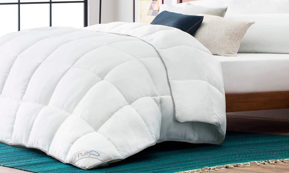 Try Any Mattress of Your Choice RISK-FREE @ Home W/ Free Delivery Puffy_Comforter_2048 Best Weighted Blankets Review