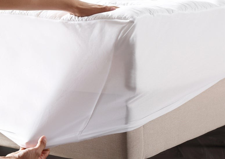 Try Any Mattress of Your Choice RISK-FREE @ Home W/ Free Delivery dream-cloud-100-cotton-mattress-protector Best Mattress Protectors Waterproof
