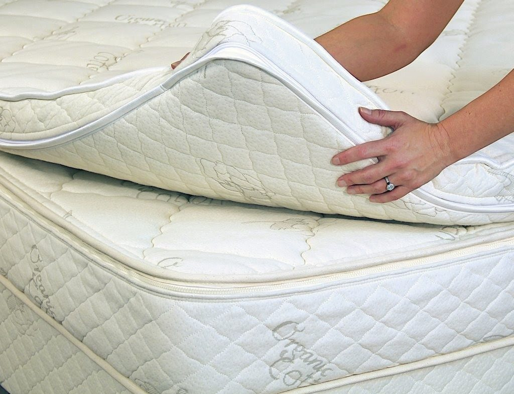 Try Any Mattress of Your Choice RISK-FREE @ Home W/ Free Delivery wool-latex-mattress-topper-sleep-ez-1024x785 Best Mattress Toppers Review