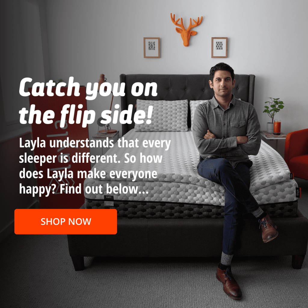 Try Any Mattress of Your Choice RISK-FREE @ Home W/ Free Delivery layla-flip-side-1024x1024 Layla ($300 deal)