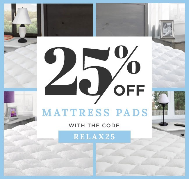 Try Any Mattress of Your Choice RISK-FREE @ Home W/ Free Delivery 25-off-mattress-pads Best Mattress Toppers Review